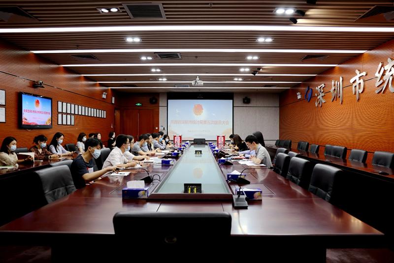 市统计局团总支召开第五次团员大会暨五四表彰大会