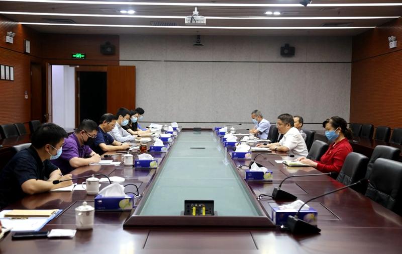 深圳市统计局召开慰问抗疫党员干部座谈会